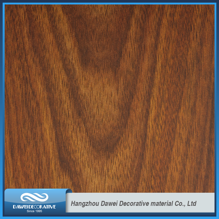 DW81019 wood grain door finish foil paper