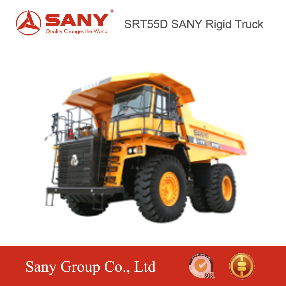 SANY SRT55D 55ton Rigid Mining Dump Truck More Oil Savings for Mining Dump Truck for Sale in Tunisia