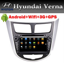 Super convenient internet android car dvd player for Hyundai Verna