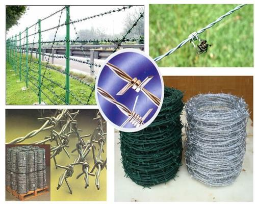 barbed wire fencing materials_Yuanwenjun.com