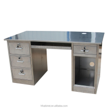 Modern Stainless Steel Office Desk of China.