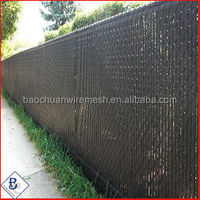 wholesale used Aluminum Slats for Chain Link Fence