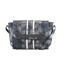 CC45-141 Wholesale guangzhou factory snake skin animal PU lady crossbody bag