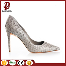 HIGHLY IMITATION SNAKE SKIN 3 to 4 inches stiletto high heel shoes for women