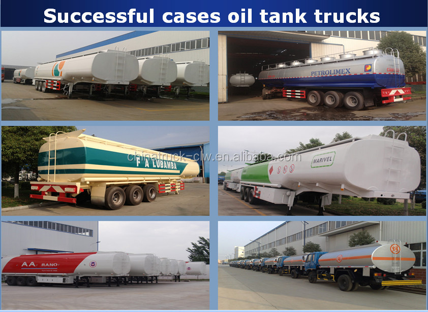 Factory direct supply cheap tri axle Steel suspension carbon steel 42m3 diesel fuel tank trailer for hot sale