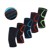 Online shopping silicone anti slip basketball knee brace support with customized logo