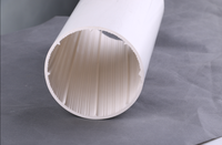 Top high quality white spiral-wall de noise pvc pipe