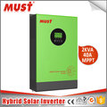 China popular Must Brand 5000VA/4000W solar inverter 80AMP MPPT solar inverter
