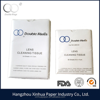 double rings lens cleaning tissue 10X15CM