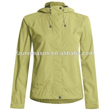 Waterproof cheap foldable windproof rain jacket