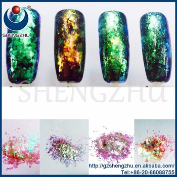Alibaba VIP Supplier Chameleon Flake pigments for nail gel polish
