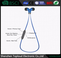 Wholesale bluetooth earphone color headphones Shenzhen bluetooth mobile phone bulk wireless headset