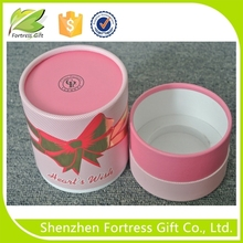 biodegradable customized Round candle paper tube packaging