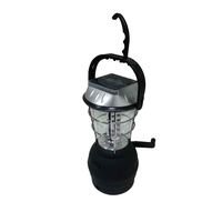 LED Solar Fan Camping Battery solar Rechargeable Lantern