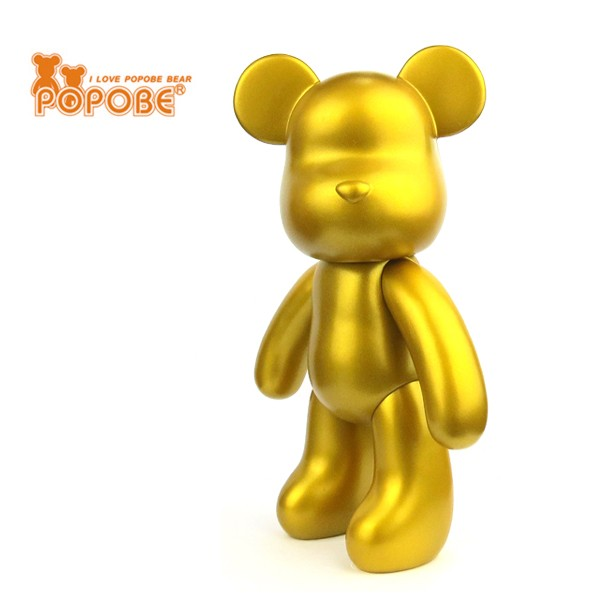 2017 New Design PVC Vinyl Toy Home Decoration Movable Bear Toy Promotional Gift