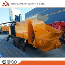 high quality diesel concrete pump and mixer