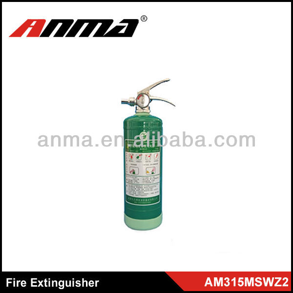 1A and 55B and C fire extinguisher bottle