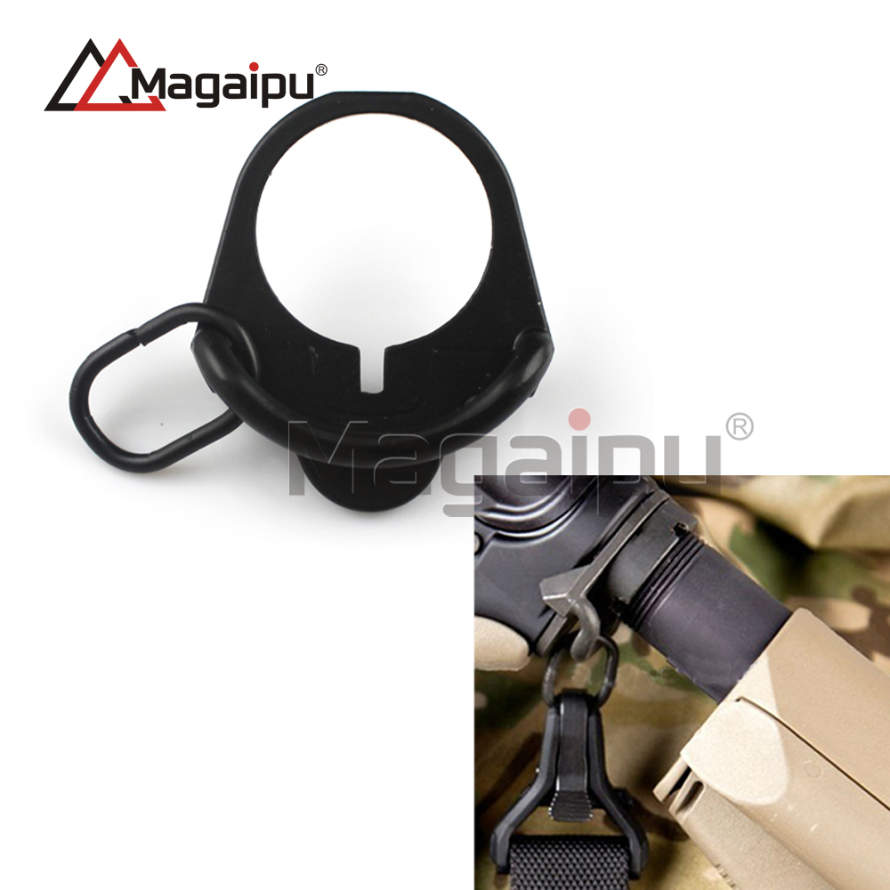 Sling Attachment Sling Mount Black Picatinny New Rail Mounted Quick Release Detach QD Sling Attachment with Swivel Base