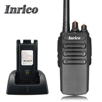 Military quality Inrico IP168 VHF UHF 3-8km calling distance 16 Channel Analogue handy ham radio