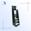 good quality cardboard display with plastic hook /cardboard display stand rack