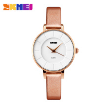 2016SKMEI new product women wrist watch1178 western wrist glass watches for less