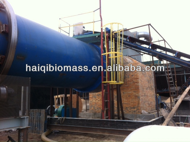 100kw high thermal efficiency plastic gasifier for boiler