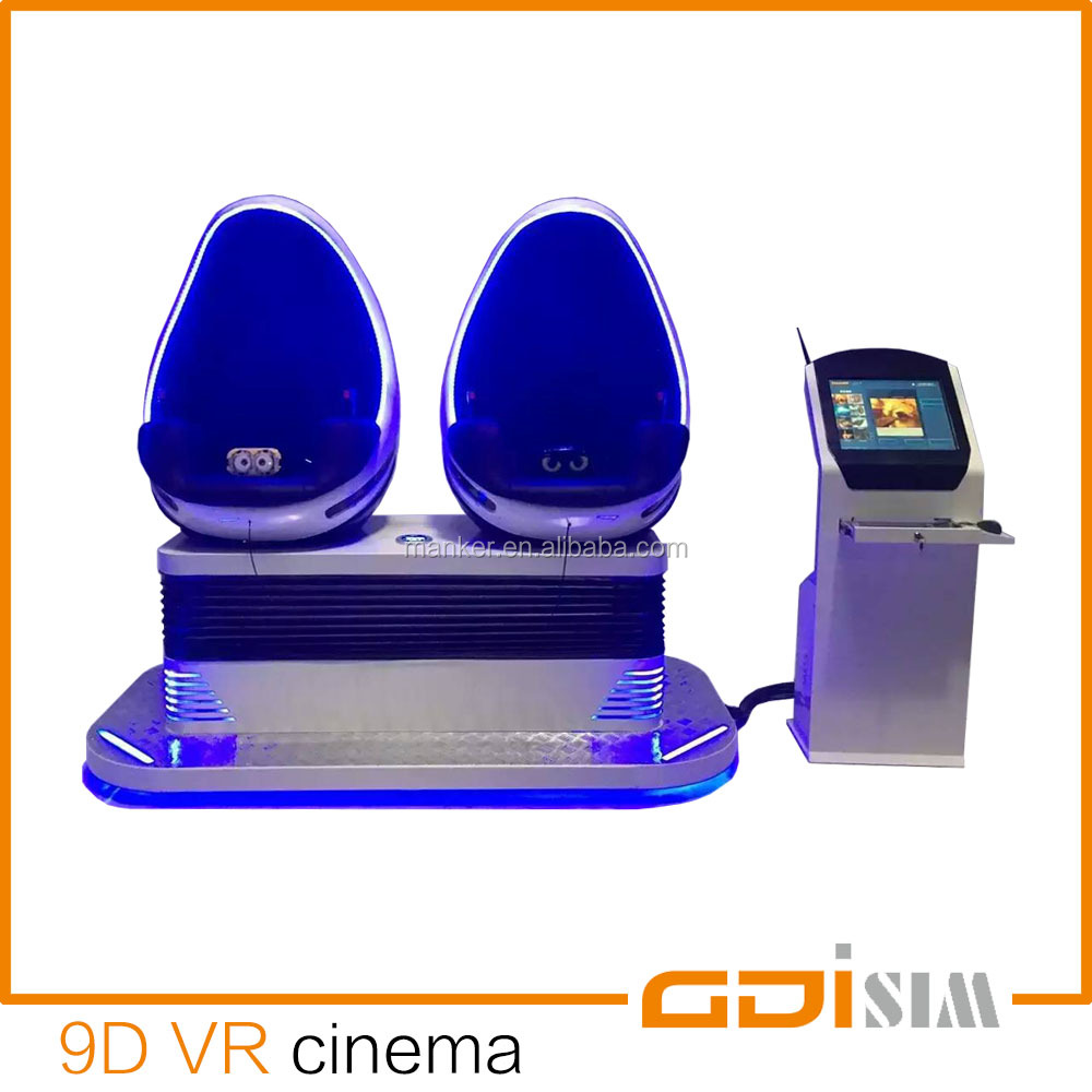 9d virtual reality VR cinema easy operating game machine