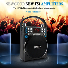 100W portable outdoor rechargeable amplifier speaker with FM radio and USB for dancing,morning exercise,walker and church etc