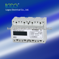 DIN Rail Three Phase LCD Electronic energy meter /electricity meter /kWh meter LEM021JC / JB / MC / MB