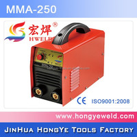 Super Quality IGBT DC 250 amp mma inverter arc welding machine