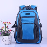 New Fashion Blue Patchwork Nylon Kids Children School Bag Cartoon Backpack For Wholesale Kids Bags Gifts BA81202-46