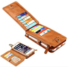 Vintage Wallet Purse Magnetic Leather 18 Cards Flip Pouch Stand Case For iPhone