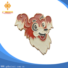 Top sale cheap customized happy monkey face lapel pin