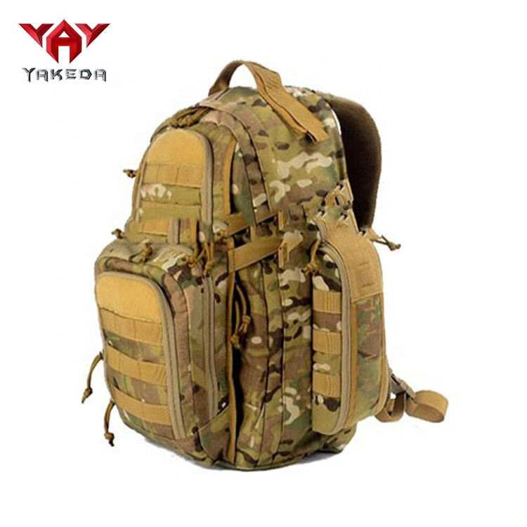 yakeda Cheap outdoor hiking back camo camouflage army waterproof pack military backpack