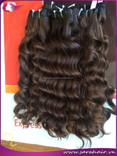 New year arrival 5a grade bleach brown wavy hair extensions