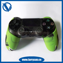 OEM cool and wild silicone Front and Back Housing Shell For PS4 Controller Shell