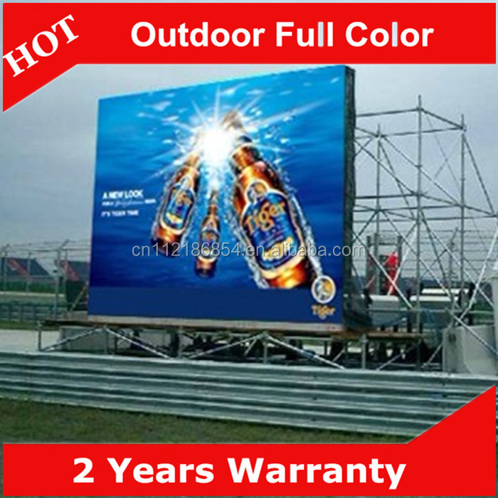 Best seller P8 full color video LED Screen Outdoor LED display for stage China factory