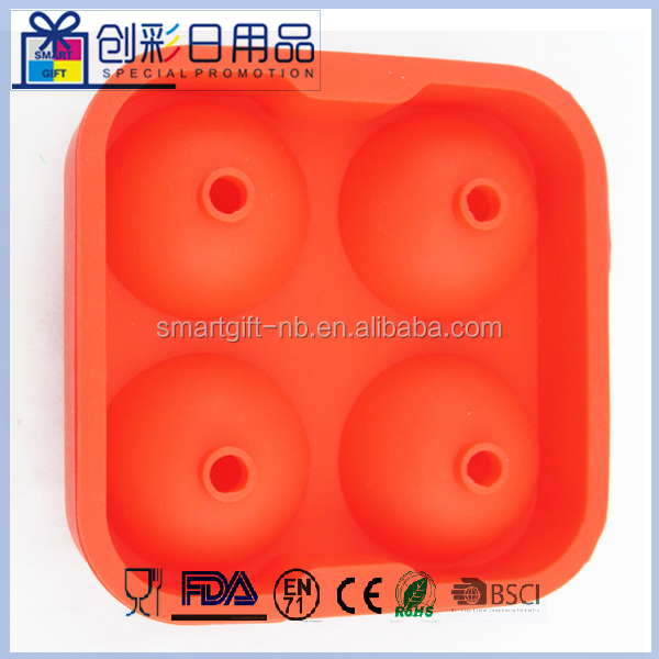 silcon ball shape Popsicle Mould Ice Cream Mould