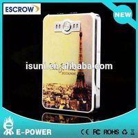2015 8000 mAh Portable Power Bank for iphone/ipad/ipod/psp/camera digital products