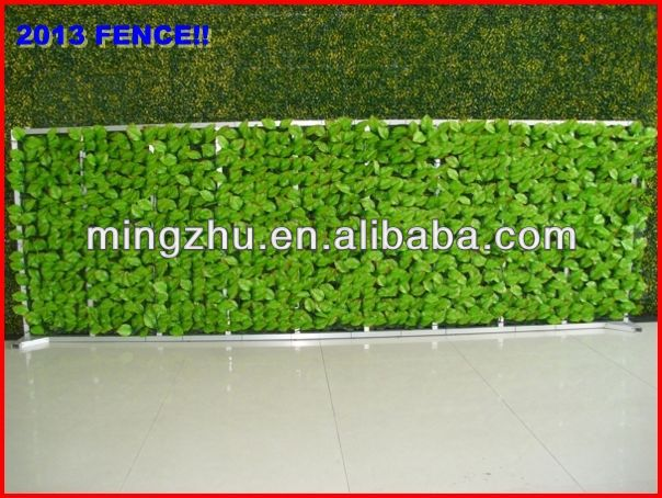 2013 China fence top 1 Trellis hedge new material brushwood heather fencing