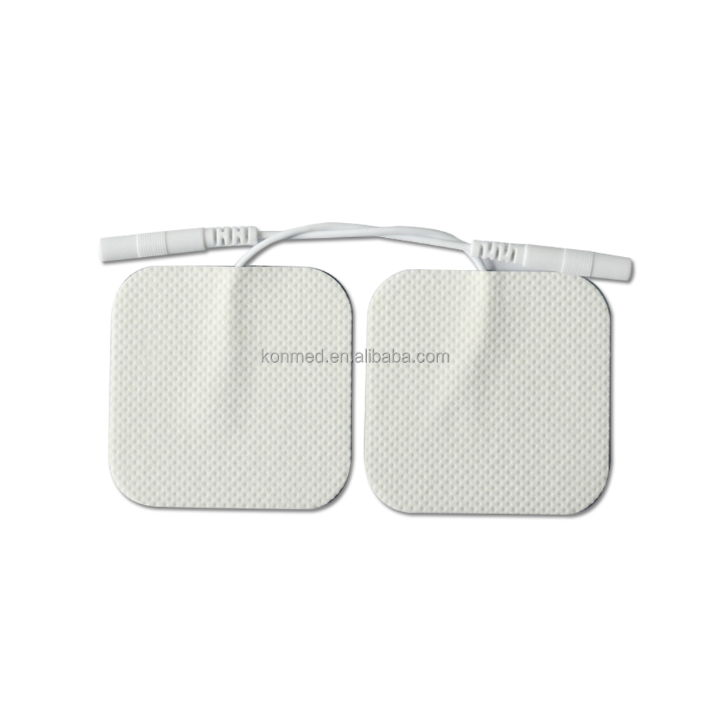 Tens replacement sticky gel electric muscle stimulator sticky electrode pad