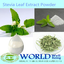 Factory High Quality Stevia Leaf Extract 95% Stevioside RA 98% Stevia Rebaudiana