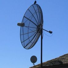 HD C Band FTA 1.8m Solid Satellite Dish 180cm Offset