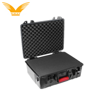 Custom waterproof shockproof safe equipment instrument case