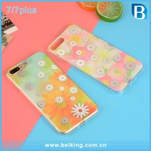 mobile phone accessories ,Small daisy hard pc cell phone case for iphone 7 7plus