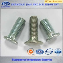 manufacturer supply Hot Dipped Galvanized Timber Bolt/mushroom head
