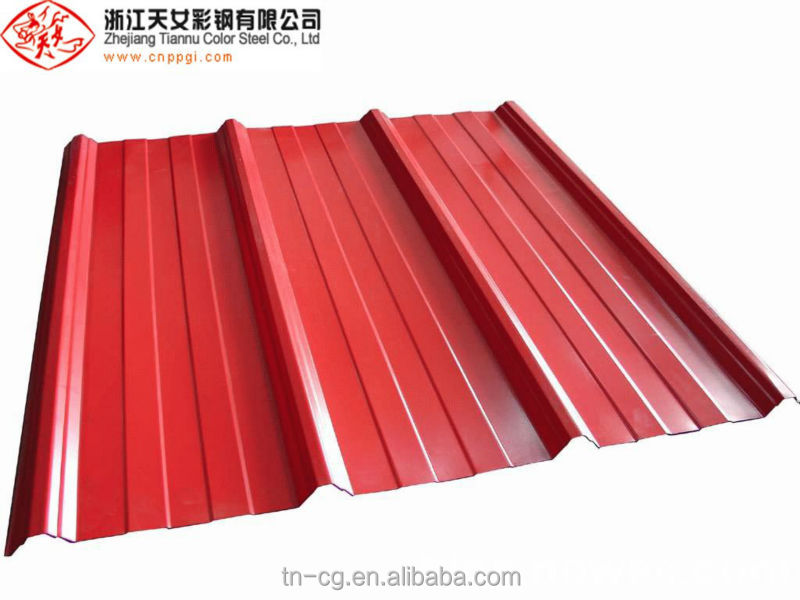 color roof metal tiles price