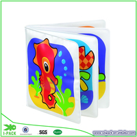 China manufacture easily learn toy book eva film bath toy