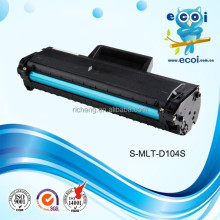 For ml104s toner cartridge (MLT-D104S) , Compatible ML104 for office laser printer with ISO,SGS,STMC,CE Approved