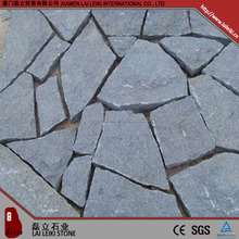 Simple design G654 flamed granite terrace floor tiles